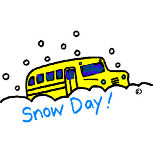 School transportation cancelled due to weather