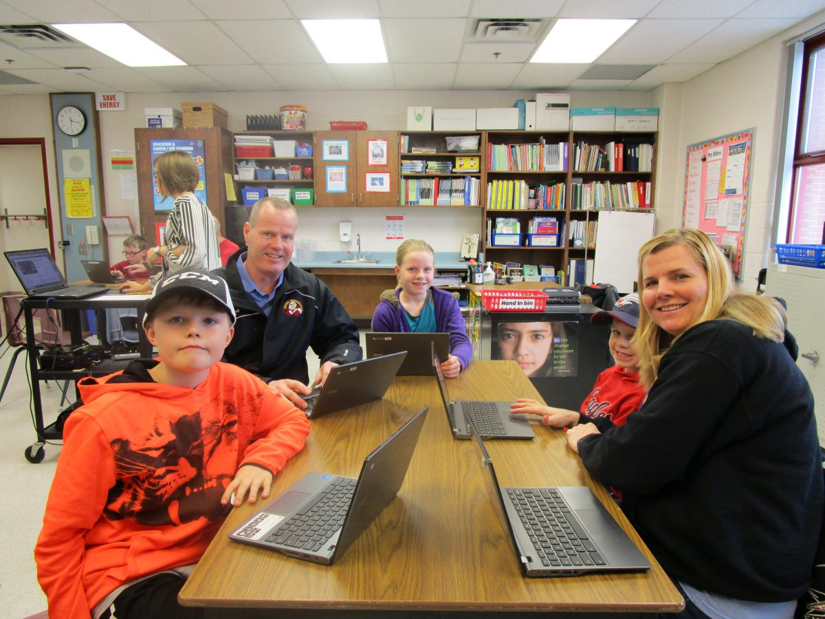 Good Shepherd teaches Coding to families