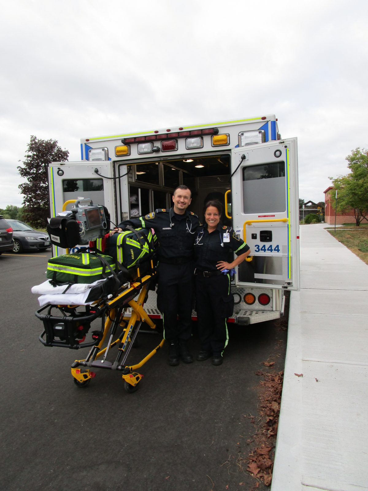 Safety Week Continues with Visit from EMS