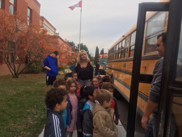 Bus Safety Today at Good Shepherd