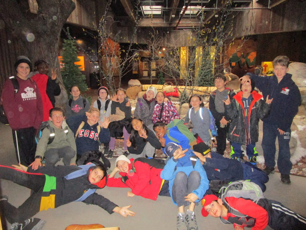 Junior Students Enjoy Ste. Marie Among Hurons Trip