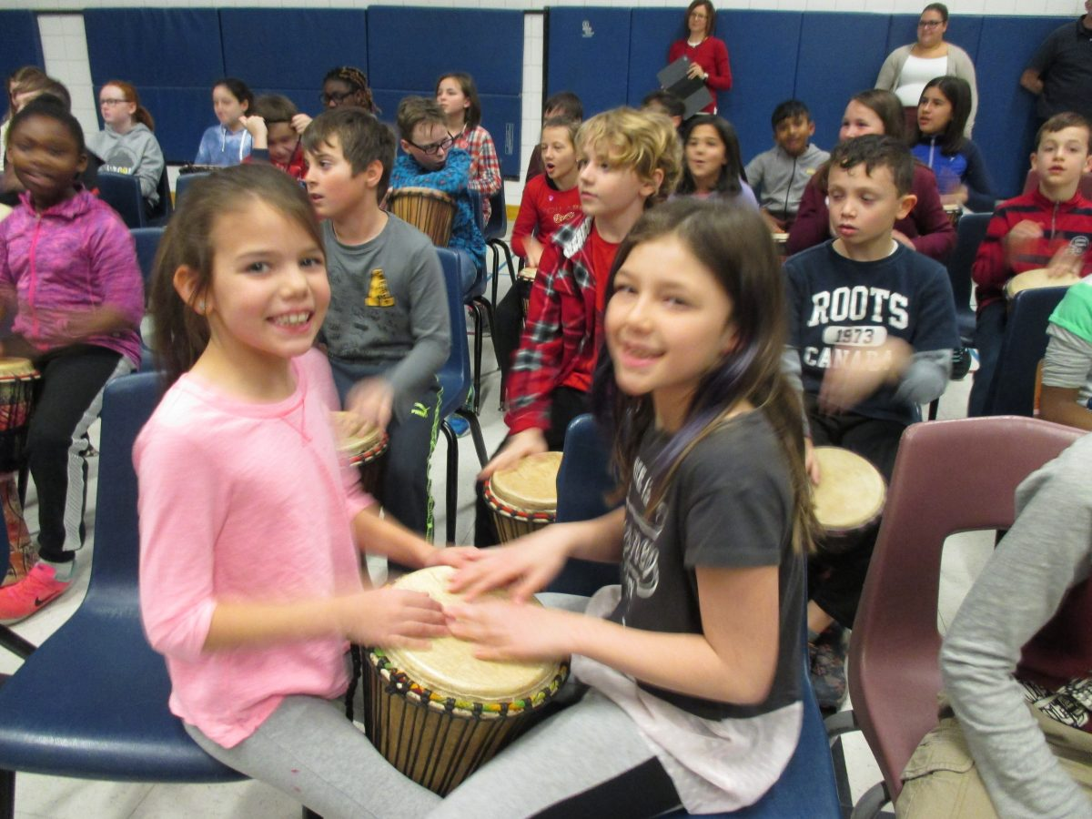 African Drumming and Character Development Assembly
