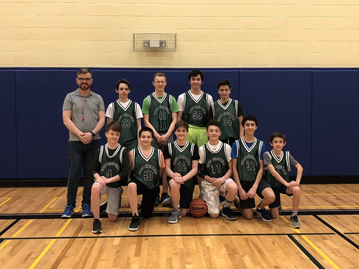 Good Shepherd Proud of Boys Basketball Team